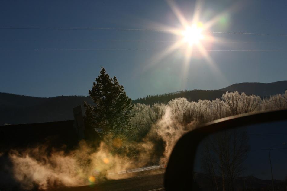 sunny+cold
