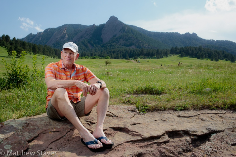 Boulder Portrait by Staver