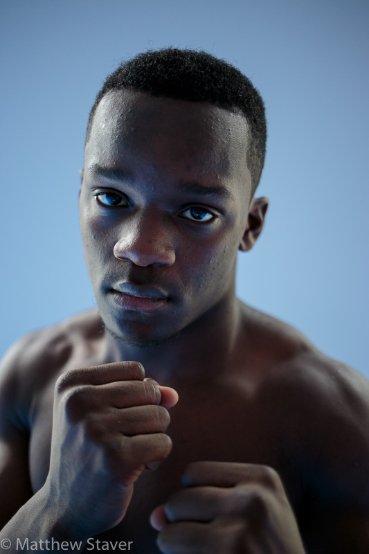 Powerful Boxer Portrait of Troy Isley