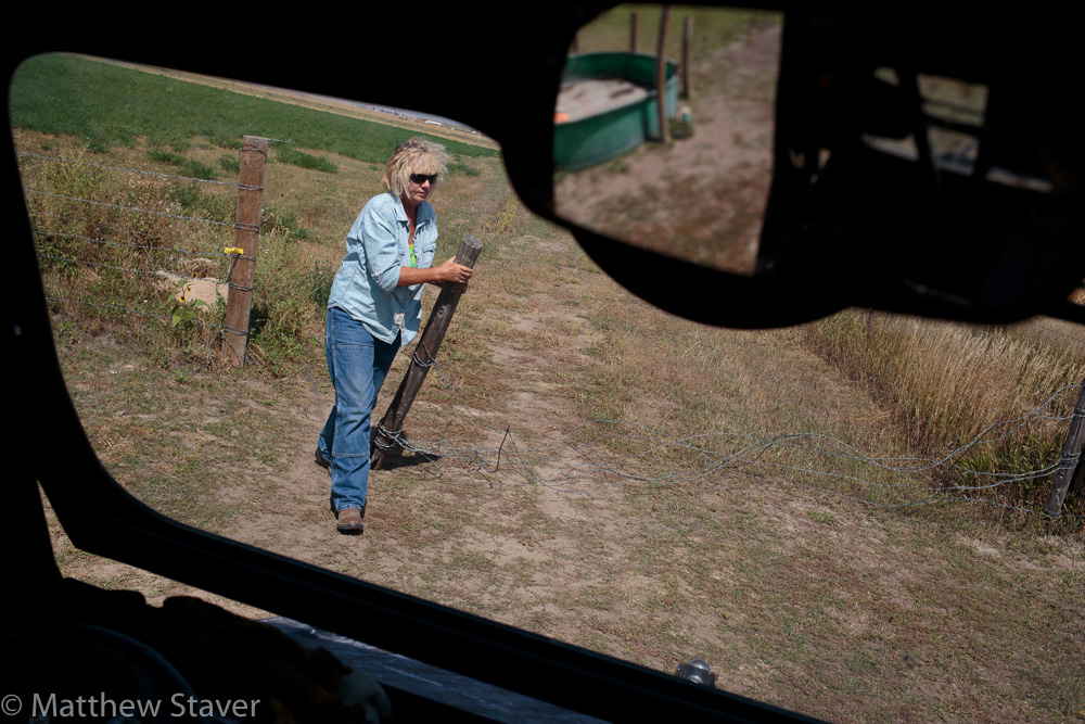 Documentary Photograph of Woman Rancher in Colorado