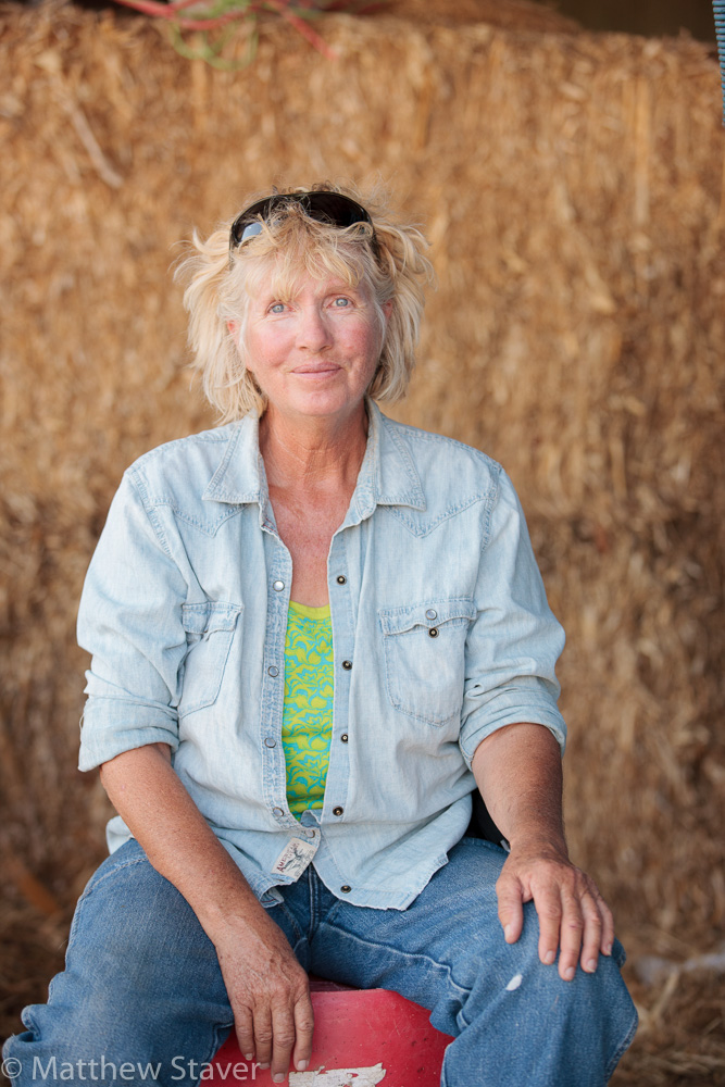 Portrait 2 of a woman rancher in Colorado